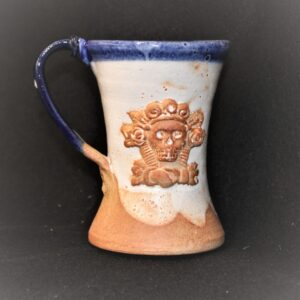 Day of the Dead Ceramic Mugs by Iowa Artist Paul Koch