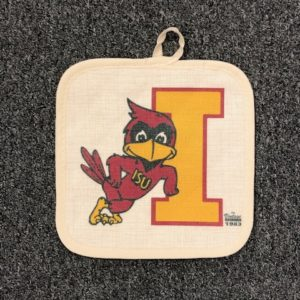 Iowa State University Vintage Cy Pot Holder