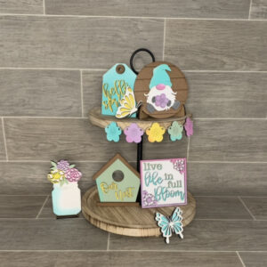 Spring Tiered Tray Bundle DIY Kit
