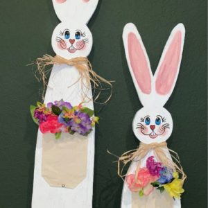 Primitive Wood Bunnies