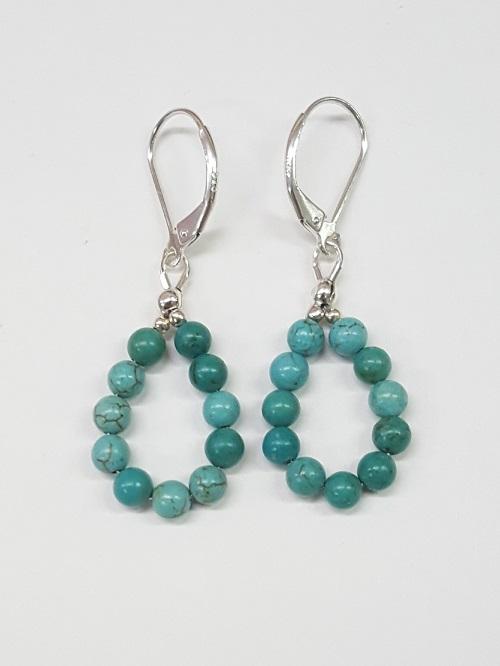 Persian Turquoise Earrings