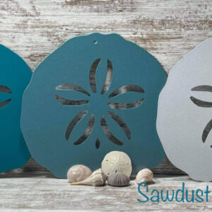 Sand Dollar Metal Signs