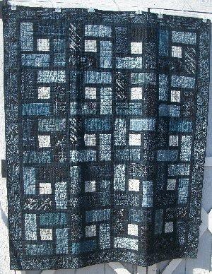 Urbanista Revisited Batik Quilt Kit