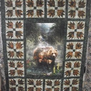 Bears Paw Panel Quilt Kit