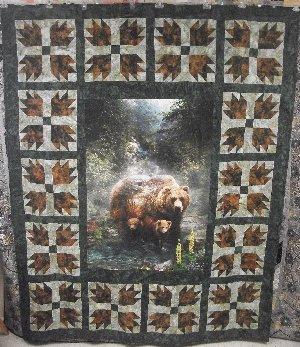 Bears Paw Panel Quilt Kit