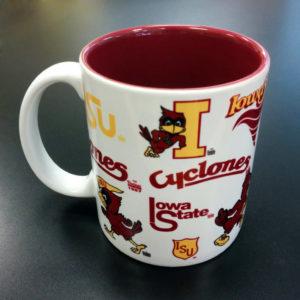Iowa State University Vintage Logos Mug – 11 oz