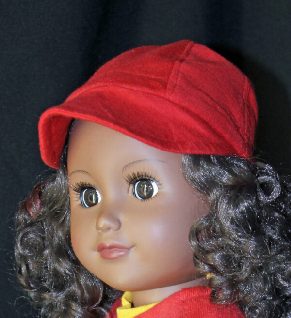 Baseball Cap for American Boy or Girl Dolls