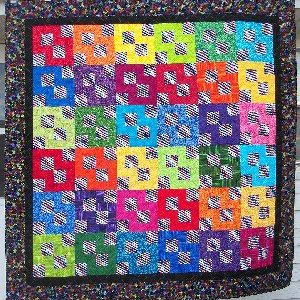 7/8 Jelly Belly Quilt Kit
