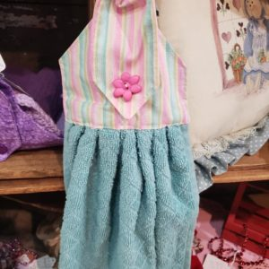 Spring Blue/Pink Hand Towel