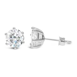 Stia CZ Stud Earrings
