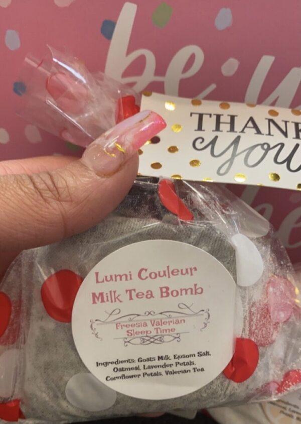 Milk Tea Bombs