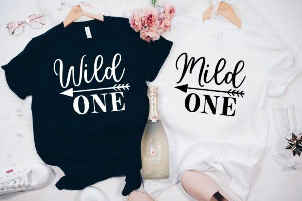 Wild One and Mild One Tee