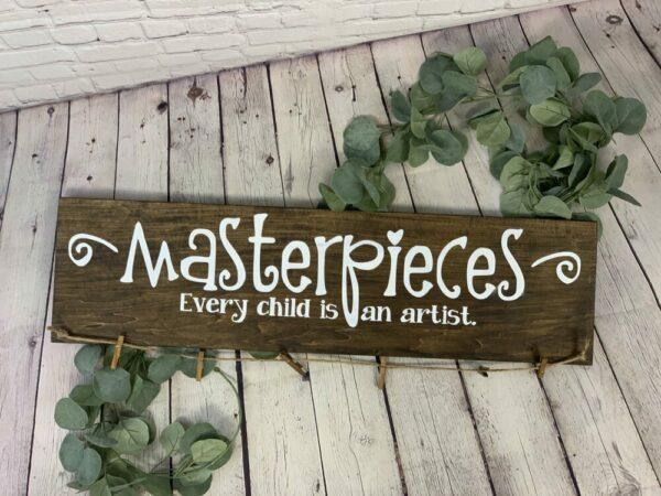 Child's Artwork Holder