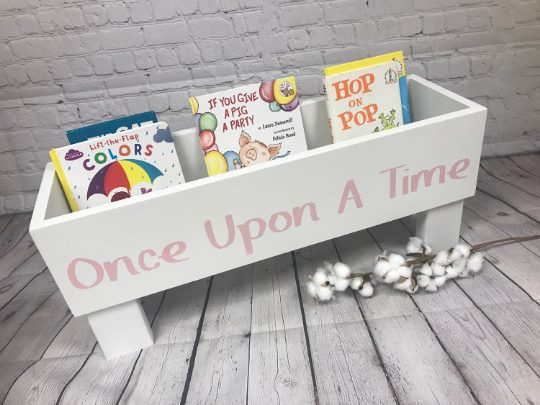 Once Upon A Time Children's Book Bin