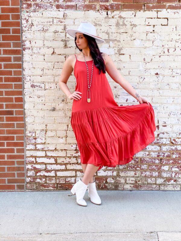 Dancin' Down The Hallway Dress