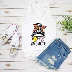Mom Life Baseball/Softball Tank