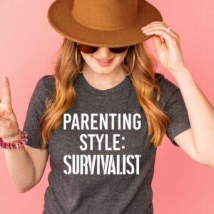 Parenting Style Survivalist Tee