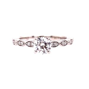 Levy Diamond Engagement Ring
