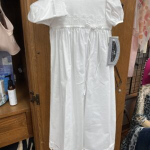 Baptism/Christening lace gown