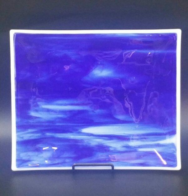 Blue Tray by Nancy Rasmussen