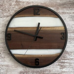 Black Walnut Live Edge Clock