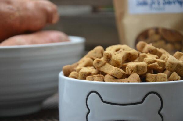 Sweet Potato (Gluten Free) Mini Bones Treats