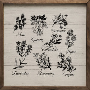 Herbs and Spices – Kendrick Home Wood Sign