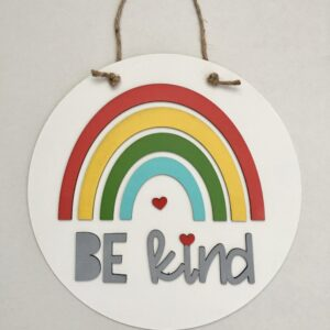 Be Kind 12″ Door Hanger