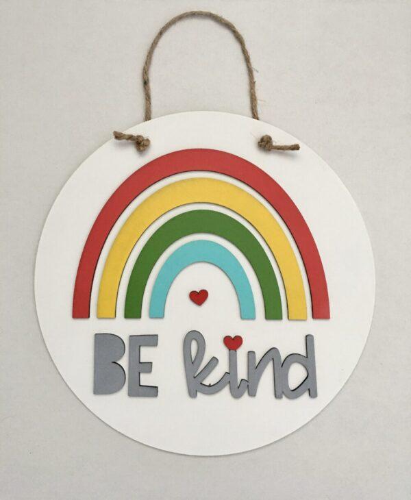 Be Kind 12″ Door Hanger