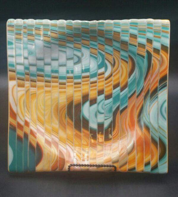 Multi-Square Plate by Nancy Rasmussen