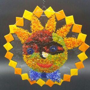 Sunshine glasswork by Nancy Rasmussen