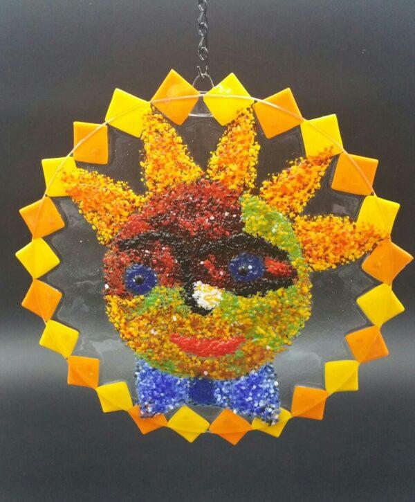 """Sunshine"" Glasswork by Nancy Rasmussen"