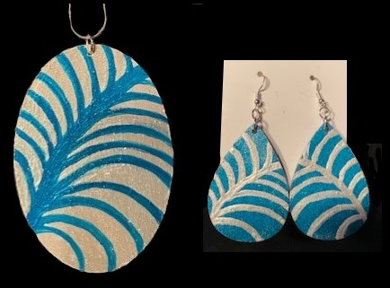Necklace/Earrings Matched Set!
