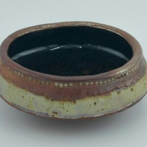Brown Clay Bowl By Bill Ball