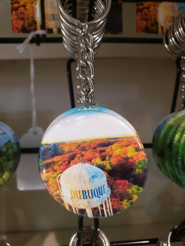 Scenic Dubuque Keychains