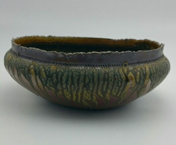 Large Clay Bowl by Bill Ball