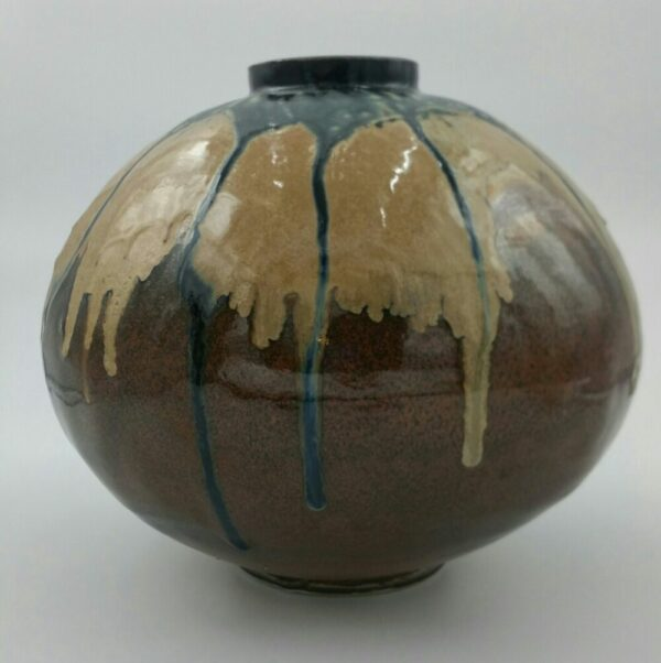 Large Clay Vase by Bill Ball