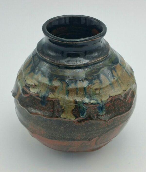 Clay Melting Vase by Bill Ball