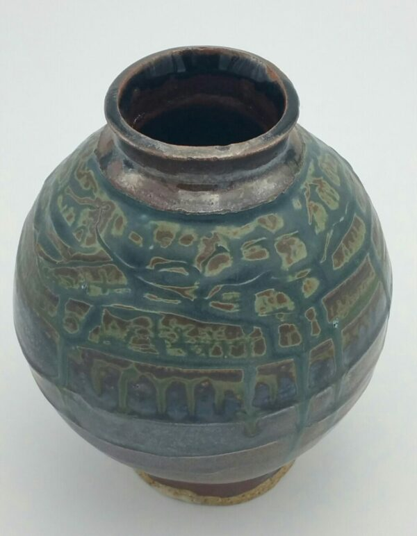 Small Clay Vase by Bill Ball