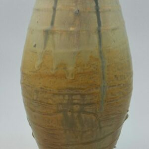Tall Clay Vase by Bill Ball
