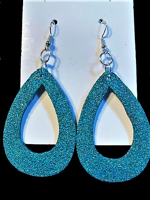 Teardrop Earrings… Bling Style!