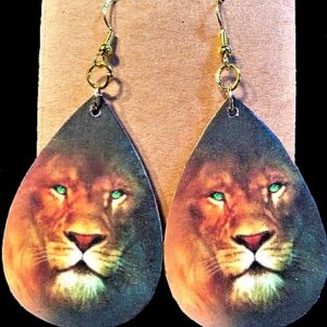 Lion of Judah Earrings
