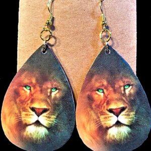 Lion of Judah Earrings