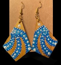 Seeing Blue Earrings