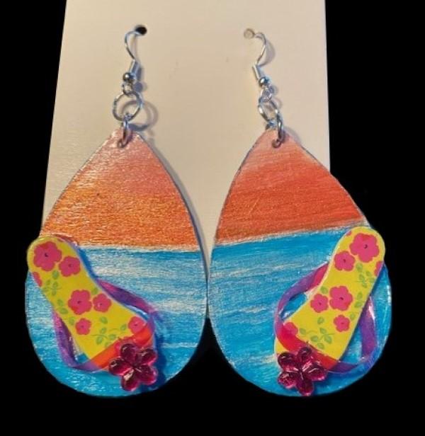 Who Doesn't Love the Beach Earrings