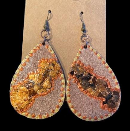 Bronzed Beauties Earrings