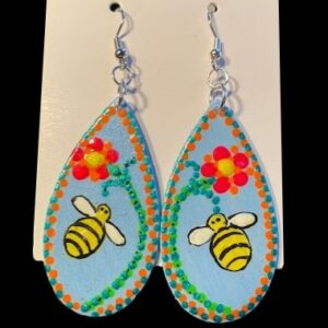 Bzzzzzzzz Bee Earrings