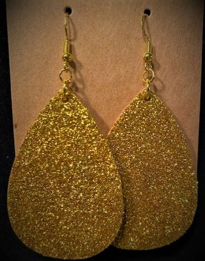 I Struck Gold Earrings