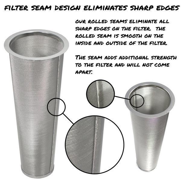 Cold Brew Coffee Maker with Flip Cap Lid – 2 Quart