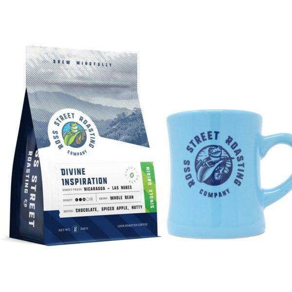 10oz RSR Mug + Roaster's Choice 12oz Coffee Bag – Bundle & Save 10%